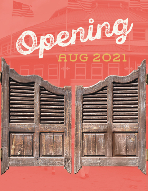 Opening July 2021